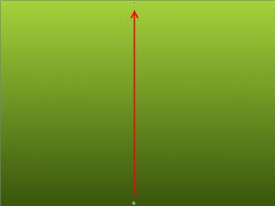 Заливка зеленым градиентом